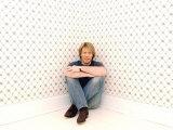Amerikanischer Rockstar Jon Bon Jovi in seinem Zuhause in New Jersey, New York, März 2004 Fotografie-Druck