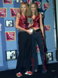 All Saints Pop Group in Milan with MTV Award, November 1998 Photographic Print