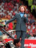 Mick Hucknell and Simply Red During the Opening Ceremony of the European Football Championships Fotografie-Druck
