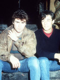 Wham Pop Group with George Michael and Andrew Ridgeley Photographie