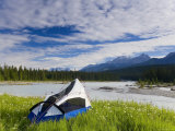 Tent, Kootenay National Park, British Columbia, Canada Photographic Print by Peter Adams