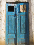Afghanistan, Faryab Province, Maimana, Blue Mosque Door Photographic Print by Jane Sweeney