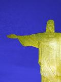 Statue of Christ, Rio de Janeiro, Brazil Fotografiskt tryck av Gavin Hellier