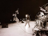 The Who in Concert, Roger Daltry Singing, August 1979 Photographic Print