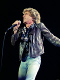 The Who in Concert, at the Royal Albert Hall, Roger Daltry Singing on Stage, October 1989 Lámina fotográfica