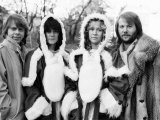 Abba in Sweden for Christmas Fotografiskt tryck