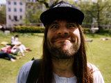 Bruce Dickinson Singer Leader of Rock Band Iron Maiden, 1992 Lámina fotográfica