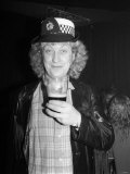 Noddy Holder of the Slade Pop Group, March 1985 Fotografisk tryk