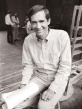 Anthony Perkins During Rehearsals for the Male Animal, June 1968 Fotografisk tryk