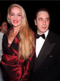 Al Pacino and Model Jerry Hall, Wife of Rolling Stones Mick Jagger, January 1997 Photographic Print