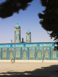 Afghanistan, Mazar-I-Sharif, Shrine of Hazrat Ali Photographic Print by Jane Sweeney