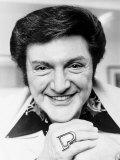 Liberace Pianist and Entertainer Wears Gold Ring That an Indian Chief Gave Him Photographic Print