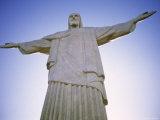 Statue of Christ, Rio de Janeiro, Brazil Photographic Print by Peter Adams