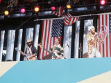 Beach Boys on Stage Photographic Print