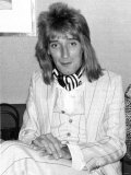 Rod Stewart, August 1977 Photographic Print