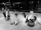 Bay City Rollers Take the Plunge Photographic Print