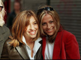 Melanie Blatt and Nicole Appleton of All Saints at Shoot for a Feature Film &quot;Honest&quot;, March 1999 Photographic Print