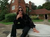 Ozzy Osbourne, Lead Singer with Rock Band Black Sabbath, October 1998 Fotografie-Druck