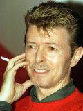 David Bowie in Paris Photographic Print