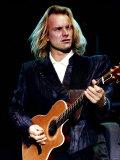 Sting in Concert, 1989 Fotografisk tryk