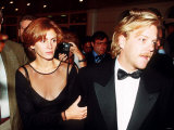 Julia Roberts and Keifer Sutherland Fotografisk tryk