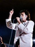 David Essex Singing on Stage Photographic Print