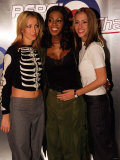 Girl Band All Saints at the Sound Republic, November 1998 Photographic Print