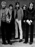 Bee Gees Vince Melouney, Colin Peterson, Barry Gibb, Robin Gibb, Maurice Gibb 1968 Photographic Print