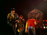 The Beastie Boys in Concert at the Brixton Academy in London, May 1987 Fotografisk tryk