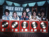 Bay City Rollers Scottish Pop Group Photographic Print