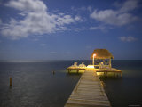 Pier, Caye Caulker, Belize Photographic Print by Russell Young