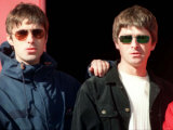 Liam and Noel Gallagher of Oasis, September 1997 Photographic Print