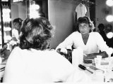Barry Manilow Sitting at His Dressing Table ,1981 Photographic Print