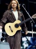 Sting in Concert Fotografisk tryk