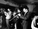Acker Bilk Playing at a West End Jazz Club, February 1962 Photographic Print