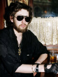 Shane Macgowan Singer with the Pogues Pop Group Lámina fotográfica