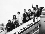 The Osmonds Family Pop Group Arriving at Gatwick Airport Photographic Print