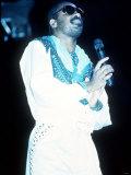 Stevie Wonder in Concert at Wembley Fotografisk tryk