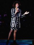 American Singer Whitney Houston Fotografisk tryk