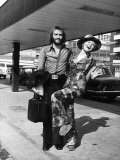 Lulu with Husband Maurice Gibb of the Bee Gees Photographic Print