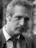 Paul Newman at a Press Conference in London at Les Ambassadeurs in Hamilton Place, October 1969 Lámina fotográfica