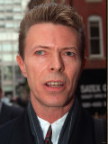 David Bowie Pop Star Photographic Print