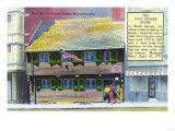 Boston, Massachusetts - Exterior View of the Paul Revere House Prints by  Lantern Press
