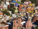 Guanajuato, Guanajuato State, Mexico Fotografie-Druck von Peter Adams