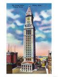 Boston, Massachusetts - Exterior View of US Custom House Prints by  Lantern Press