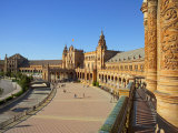 Plaza de Espana, Seville, Spain Photographic Print by Alan Copson