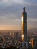 Taipei 101, Taipei, Taiwan Photographic Print by Michele Falzone