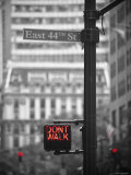 Street Sign, New York City, USA Photographic Print by Jon Arnold