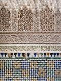 Typical Moroccan Tiles, Marrakesh, Morocco Photographic Print by Gavin Hellier