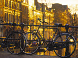 Bikes, Amsterdam, Holland Photographic Print by Peter Adams